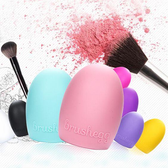 new arrival makeup cleaner,brush egg