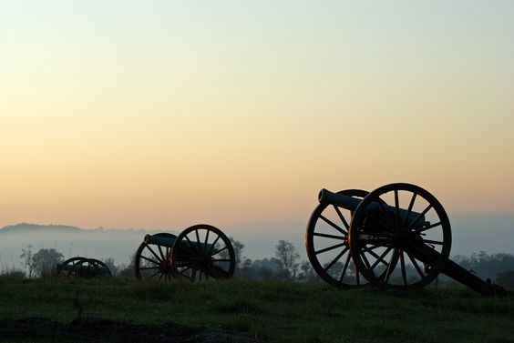 """Canon Trio,"" Antietam National Battlefield~ photograph by shannon wagner:"