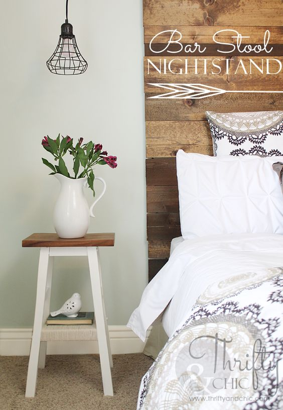 Pinterest the world s catalog of ideas for Cute nightstand ideas