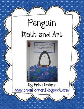 Penguin Addition Word Problem and Art Project - FREE