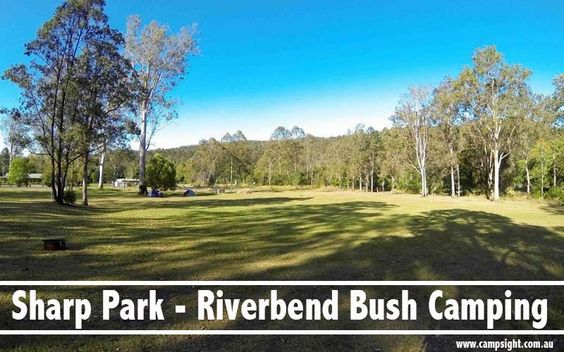 Sharp Park - Riverbend Bush Camping Canungra | 5 Campfire friendly Campgrounds near Brisbane