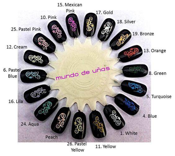 Mundo de Unas stamping polishes