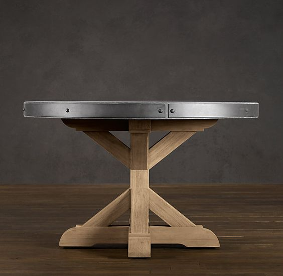 Kitchen tables tables and concrete table on pinterest for Concrete kitchen table