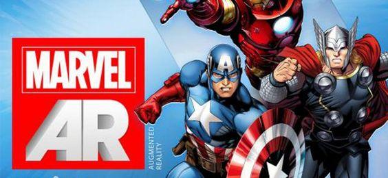 Ça faisait longtemps qu'il n'y avait pas de news sur la réalité augmentée...    Merci Marvel !