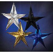 Sparkling 16 Inch Hanging Star