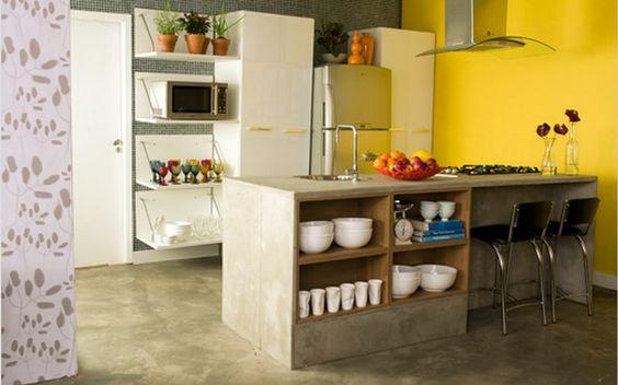 projeto de cozinhas em alvenaria - Pesquisa Google