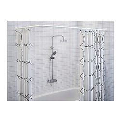 Curtain Rods Showers And Shower On Pinterest