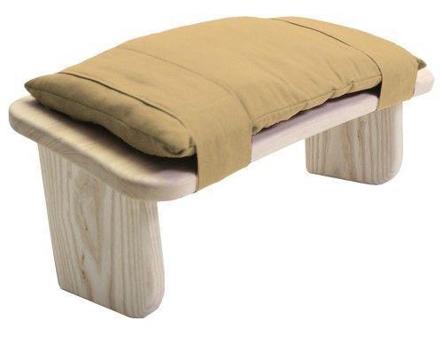 Cushion for Meditation Stool Hessian