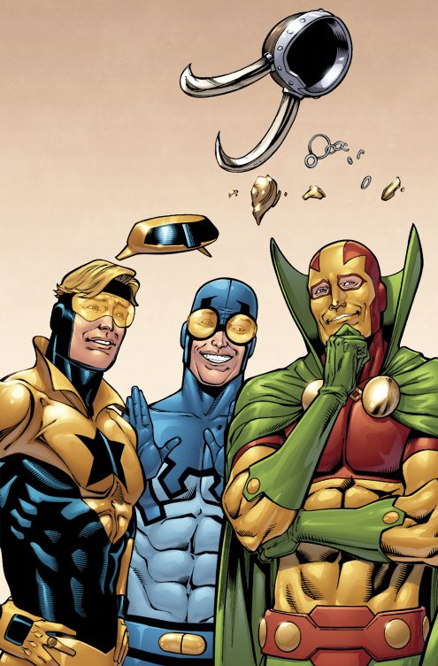 Booster Gold 35a by *DustinYee on deviantART