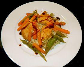 sunkissed bistro: Hoisin Chicken and Veggies