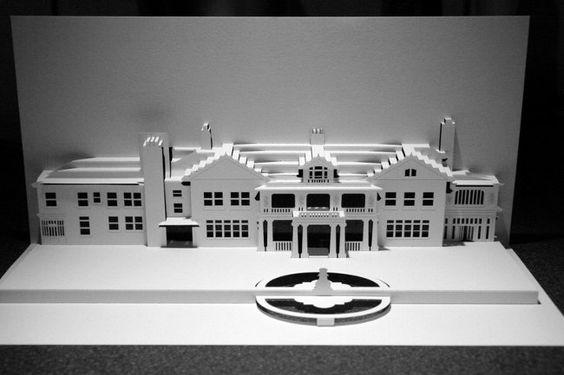 Longview Mansion - Ingrid Siliakus (Invitation Wedding Card - Building Where Couple Married)