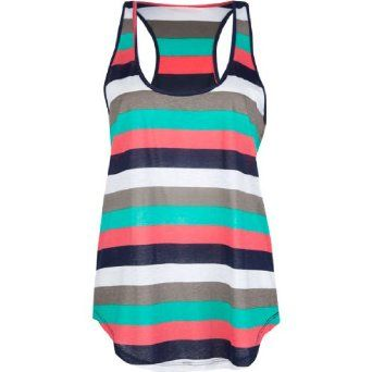 FULL TILT Essential Stripe Womens Tank Full Tilt Buy new:  $9.99 (Visit the Most Wished For in Tops & Tees list for authoritative information on this product's current rank.).