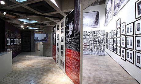 Katsumi Watanabe installation at the Watari Museum of Contemporary Art (aka Watari-um)