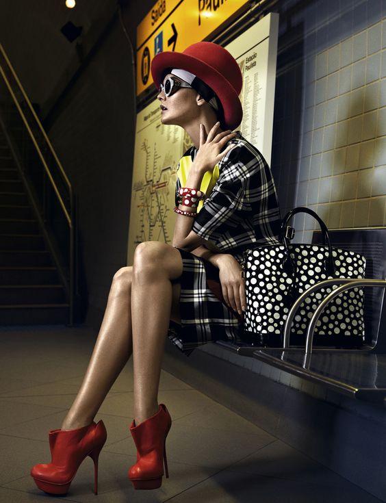 Caroline Trentini by Fabio Bartelt for Vogue Brazil September 2012!
