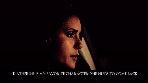 TVD | I miss Katherine
