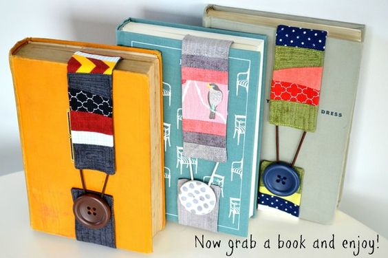 Riley Blake Designs Blog: RBD Back-to-School Blog Tour: Scrappy Bookmark DIY: