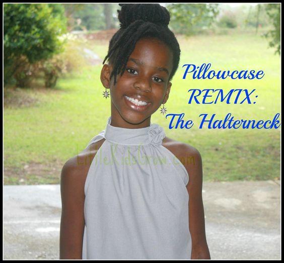 Pillowcase Remix The Halter Neck K