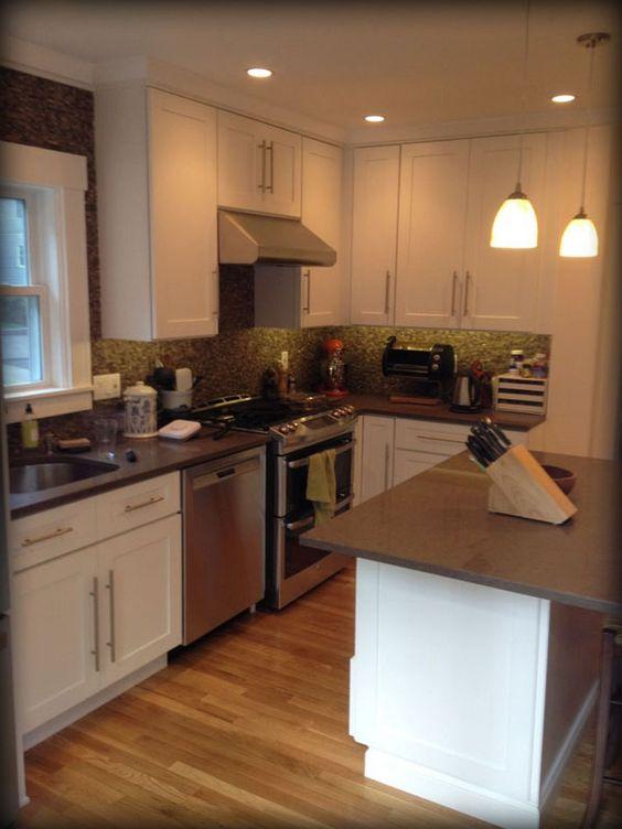 WHITE SHAKER ELITE #Kitchen #Cabinets Design Ideas Lily Ann ...