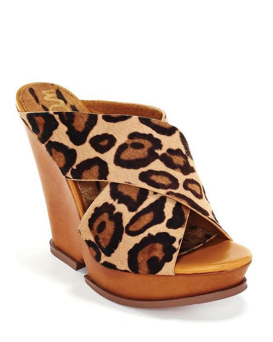 30% off Cheetah Wedge by Sam Edelman    The Porcupine  843-785-2779  The Village at Wexford E4
