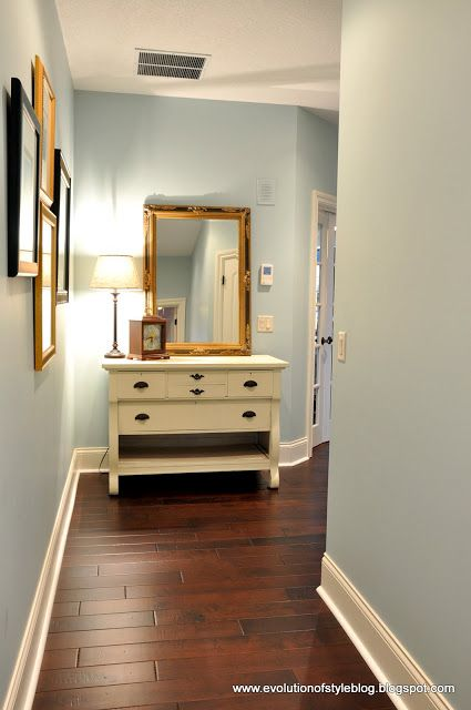 Palladian Blue - Benjamin Moore - Guest Color Palette {Jenny from Evolution of Style}..
