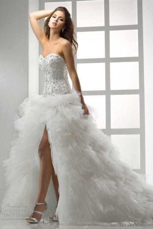 Beautiful White Wedding Gown