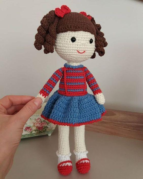 Boneca de crochê: +40 ideias com amigurumi fantásticas ... | 705x564