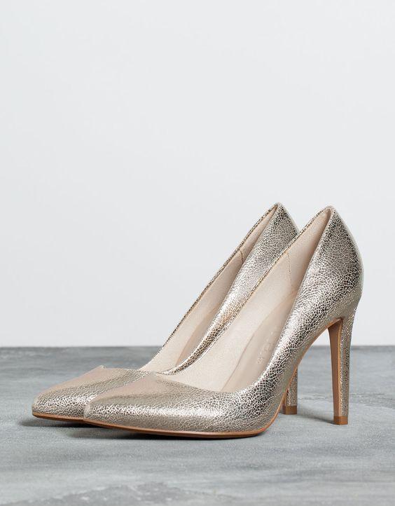 Calçado Stiletto básico - Calçado de salto alto - Bershka Portugal