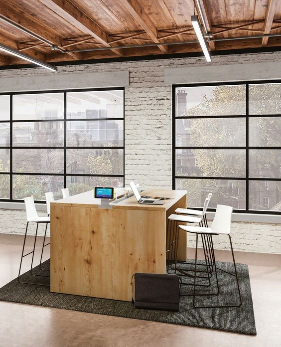 Design Inspiration + Ideas For Modern Office Workspaces