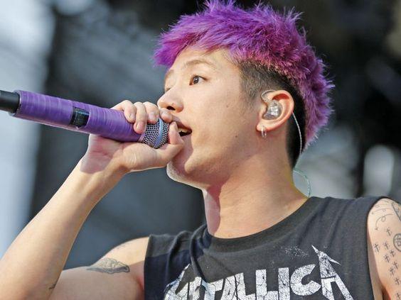 One OK Rock performs at Hersheypark Stadium during