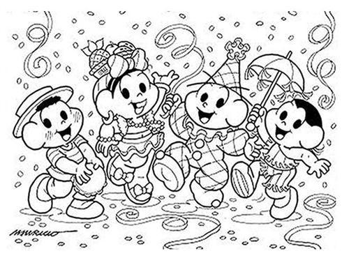 Dia Do Frevo Desenhos De Carnaval Carnaval Para Colorir