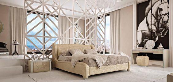 Dormitorio italiano Art Déco Ópera