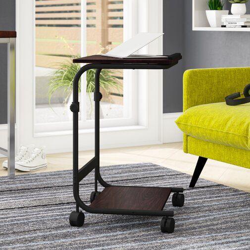 Zipcode Design Natalie Adjustable Laptop Cart Reviews Wayfair Furniture Adjustable Height Table Flash Furniture