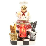 Chef oil warmer  In The Other Home Item Warmers   Section http://www.sassnfrass.net/#a_aid=ladyhaven