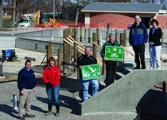 The desire to help area residents take pride in Marion is why Ohio Galvanizing Corporation created and donated new directional signs to be placed around the community.