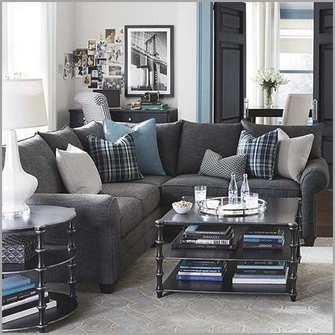 Sectional Sofa Grey Inspirational Best 25 Dark Grey Couches Ideas On Pinterest Grey Couch Light Blue Living Room Living Room Grey Brown Living Room