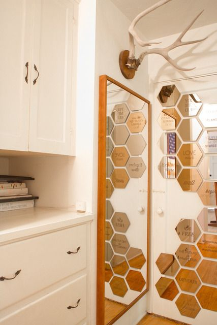 Honeycomb Home Decor Pinterest Honeycombs Mirror And Smoke And Mirrors