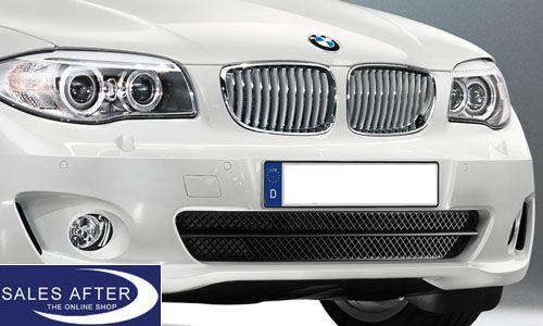 Bmw 1 Series E82 E88 Front Grille Alpine White With Chrome Bmw 1