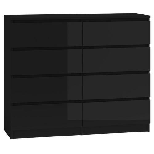 Details About Hove Matt Black Modern Chest Of Drawers 2 3 6 Or 8 Tall Wide Chest Of Drawers Wide Chest Of Drawers Modern Chest Of Drawers Chest Of Drawers