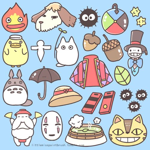 Last month, I made these free Studio Ghibli icon stickers for Japan Lover Me. :3 You can use them to decorate your photos! ^-^ You can downl...