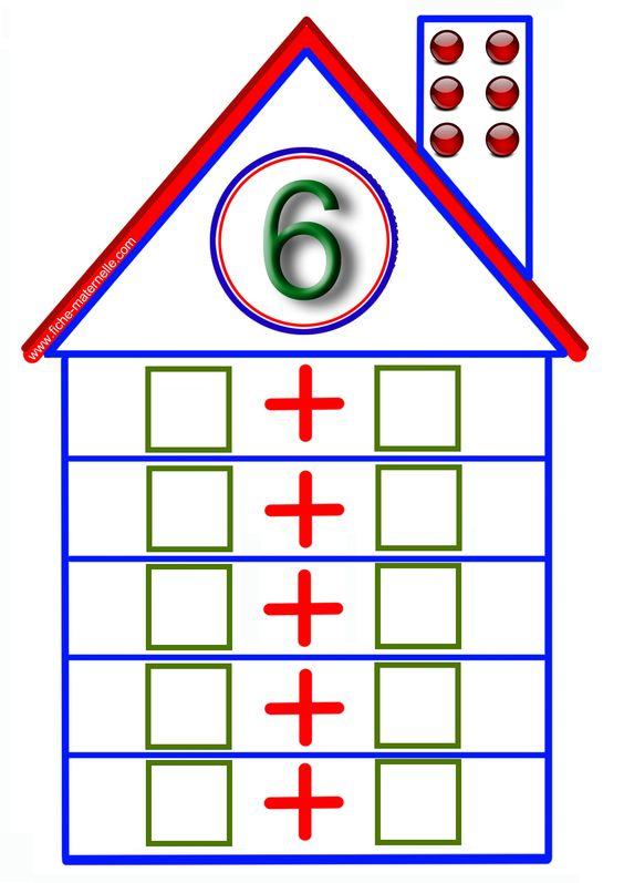 jeux math matiques en maternelle rekenwerkjes pinterest. Black Bedroom Furniture Sets. Home Design Ideas