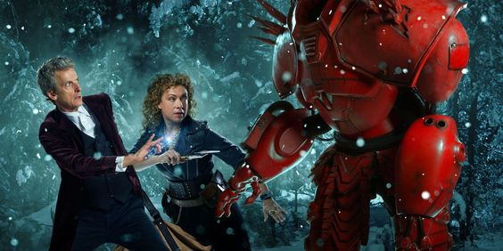 Doctor Who's 2015 Christmas special has got a title - and it seems River Song has been naughty
