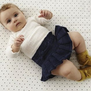 She reminds me of you Baby Annie <3  Misha and Puff Skirt + Bloomers