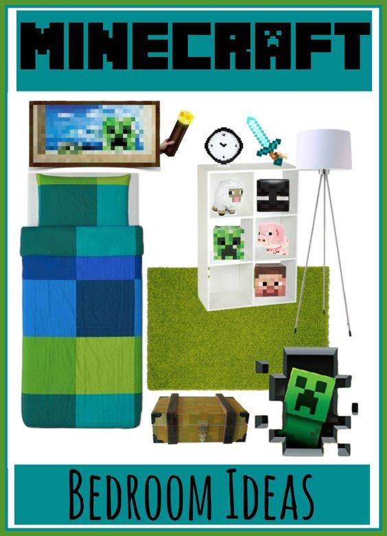 Minecraft Bedroom Decorating Ideas