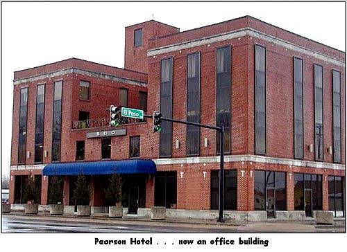 Historic Downtown Rusville Old Pearson Hotel Now The 500 Building Www Discoverrusville Org Pinterest