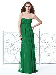 Dessy Collection #green #bridesmaid #dress This, in purple/red for bridesmaids!