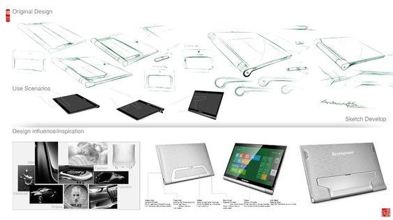 在Behance巨型平板電腦設計