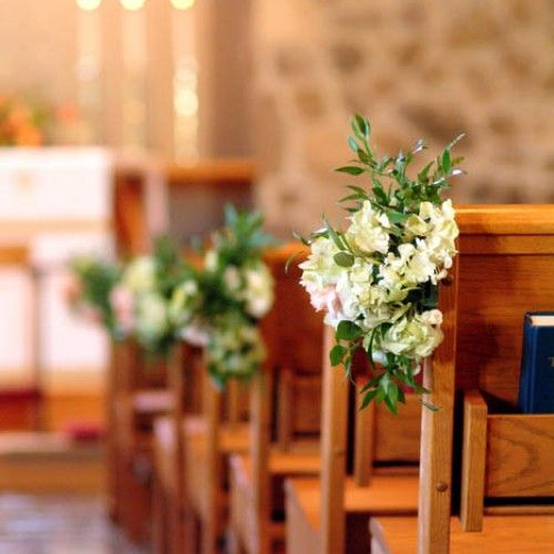 Flowers For Church Wedding Ceremony: Ceremony Flowers