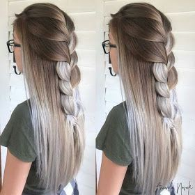 10 Trenzas De Verano 2019 Peinados Bonitos Peinados Pelo Largo Faciles Peinados Con Trenzas