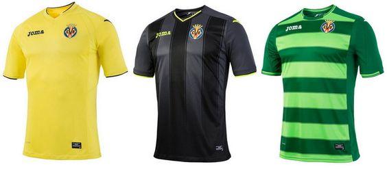 Ceci est le nouveau Maillot de foot Villarreal pas cher pour la saison 2016/2017;:
