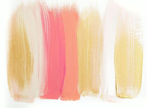 Colors 72 - an original painting by Jen Ramos at Cocoa & Hearts